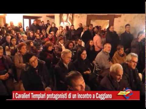 Preview video I Cavalieri Templari protagonisti di un incontro a Caggiano