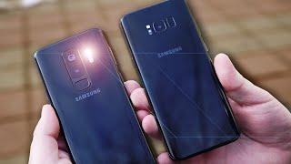 Тест камеры в Galaxy S9+ Фотография ночью!