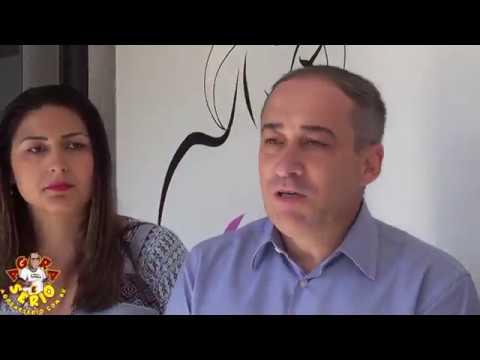 Deputado Estadual de São Paulo pelo PSC Marcio Camargo na Carreta da Mamografia em Juquitiba