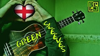 Greensleeves - Зеленые рукава на укулеле (arr. John King for ukulele tab) табы