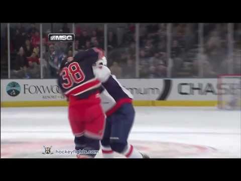 Michael Sauer vs. Matt Hendricks