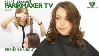 Французская стрижка French haircut парикмахер тв parikmaxer.tv