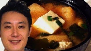 味噌汁 Miso Soup filmed on an iPhone and iPod touch
