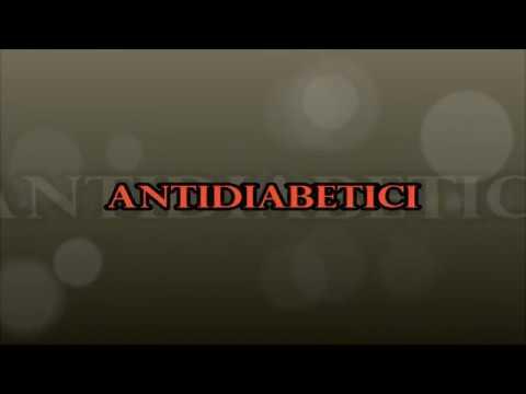 Farmaci per il diabete di tipo sah
