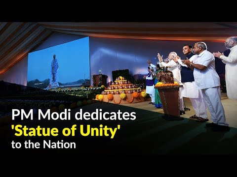 PM Modi dedicates 'Statue of Unity' to the Nation