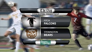 Fitch at Stonington boys' soccer