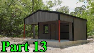 Metal Building Complete   Demolition Ranch HQ Build Part 13