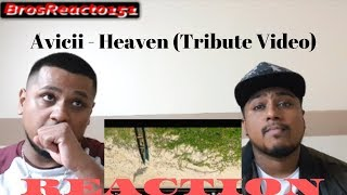 Avicii   Heaven (Tribute Video) REACTION