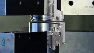 Mittels der Prozesssimulation entwickeltes, aufgleitendes Reibschweißverfahren für Gelenkkomponenten