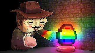 Minecraft - HACKER FINDS SECRET TO RAINBOW LUCKY BLOCKS!