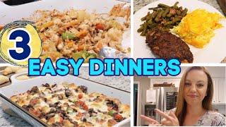 WHATS FOR DINNER? | EASY DINNER IDEAS | CASSEROLES!! | NO. 58
