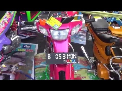 Video modifikasi yamaha vega R