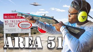 GETTING READY TO STORM AREA 51!!