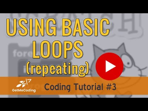 Scratch Tutorial – Basic Loops