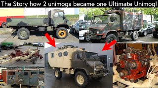 The Secrets and Details of my Unimog 404 Restauration and Diesel swap (OM617.912)