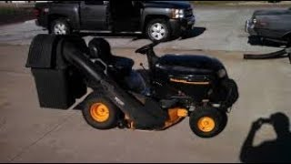 abandoned poulan pro riding mower. will it run?