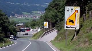 preview picture of video 'Zirler Berg: Uff! Runter ging es noch gut ...'