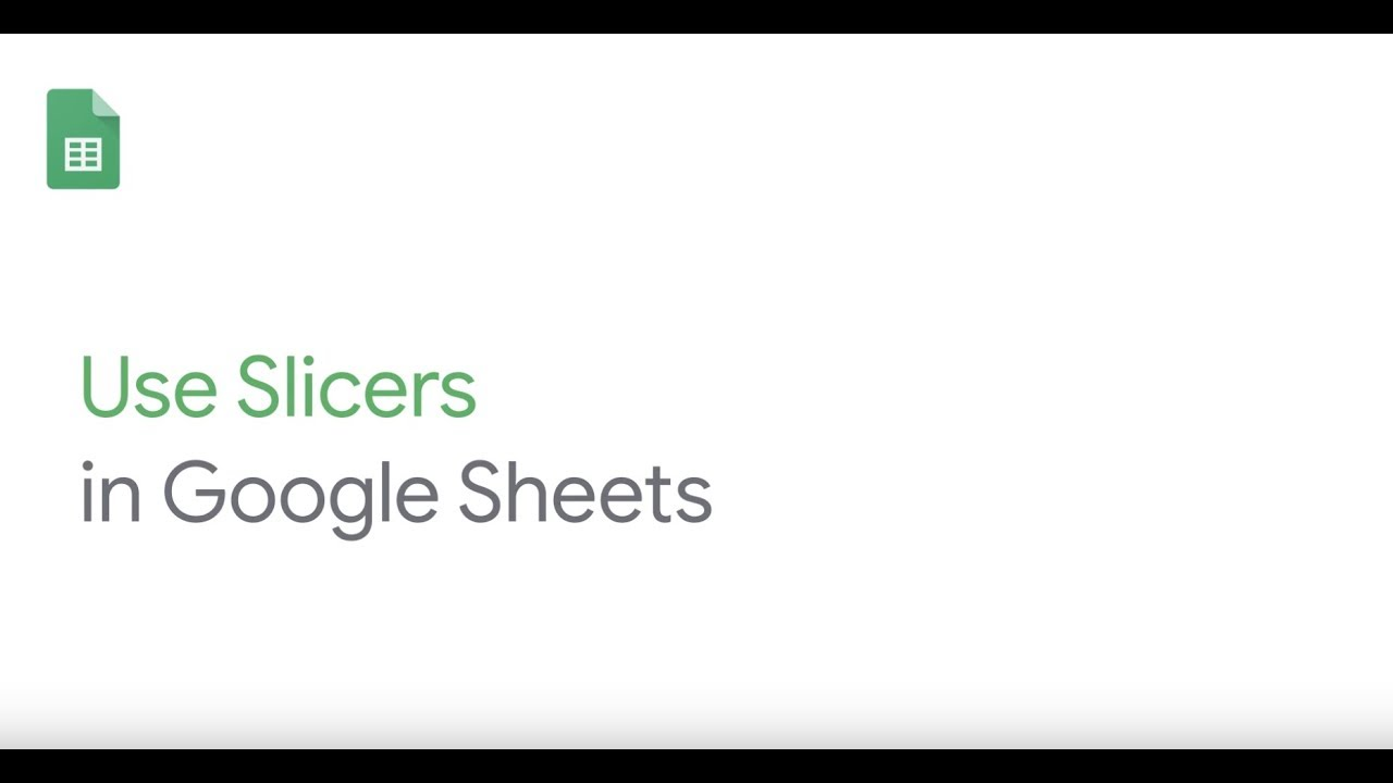Use Slicers in Google Sheets.