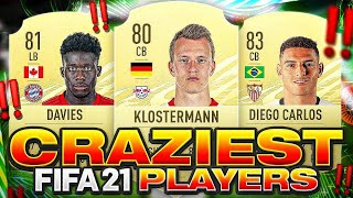 THE CRAZIEST FIFA 21 STARTER PLAYERS! FIFA 21 Ultimate Team