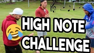 HIGH NOTE CHALLENGE FAIL