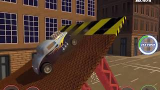STUNT CAR CHALLENGE 3 #3 Android / iOS Gameplay Video | Ramming Cop Cars in the City