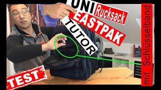 Eastpak Tutor Review (deutsch), der beste Rucksack für die Uni
