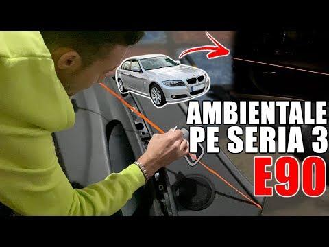 *127 Vlog - LUMINI AMBIENTALE PE BMW E90 !