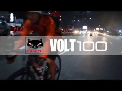 Enjoy Night Ride With CAT EYE VOLT 100!