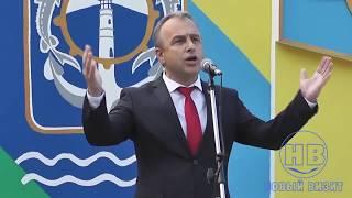 Возвращение Воробьева. День флага в Геническе.
