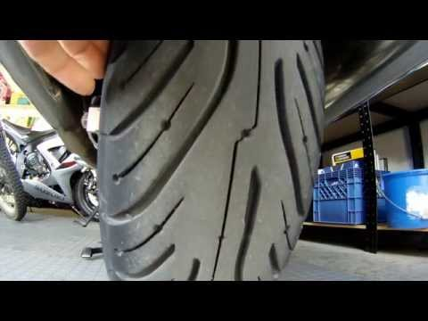 Michelin Pilot Road 4 GT Tires on a Honda ST1300