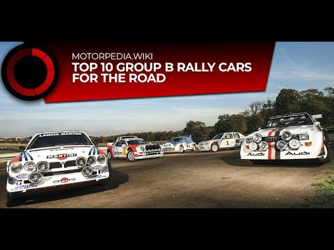 🏁 Top 10 :: Group B Rally Cars For The Road