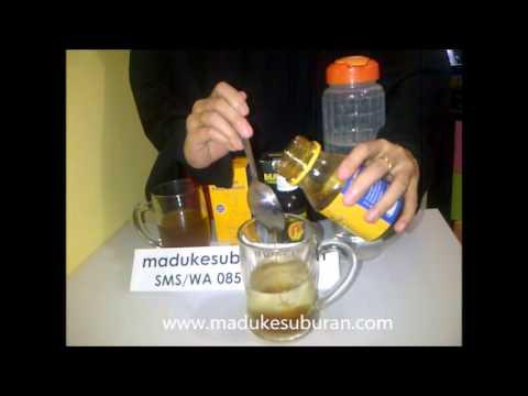Video cara konsumsi madu penyubur kandungan Al Maburoh | Pemesanan 08562765088