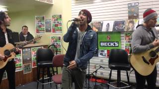 ALL TIME LOW LIVE AT EIDE'S ENTERTAINMENT DAMNED IF I DO YA DAMNED IF I DON'T 4/20/2013