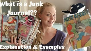 WHAT IS A JUNK JOURNAL? | EXPLANATION & EXAMPLES