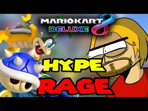 Mario Kart 8 Deluxe w/ Four Angry Men | Hype & Rage Compilation (by Hawke525)