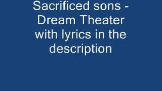 Sacrificed Sons - Dream Theater (lyrics in Description)