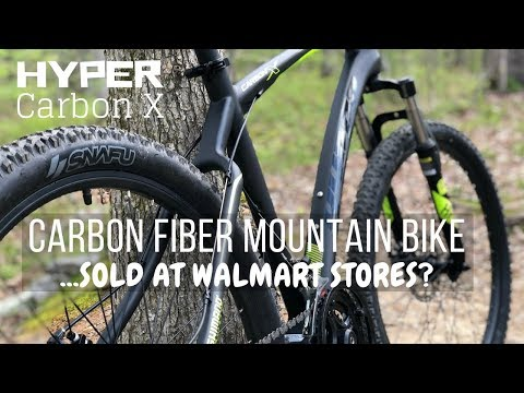 $399 Hyper Carbon Fiber Mountain Bike – sold at Walmart Stores