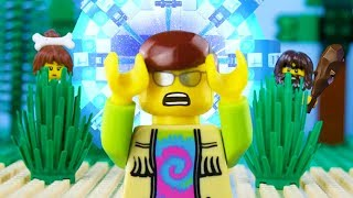 LEGO City Time Travel 2 STOP MOTION LEGO City: Caveman Tribe Attack | LEGO City | By Billy Bricks