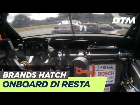 DTM Brands Hatch 2019 - Paul Di Resta (Aston Martin Vantage DTM) - RE-LIVE Onboard (Race 2)