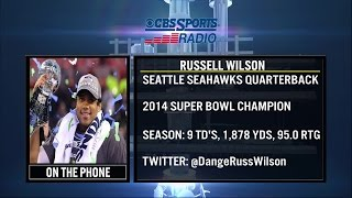 Russell Wilson joins Tierney