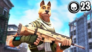 My dog played fortnite again and this happened...