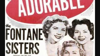 The Fontane Sisters - Adorable (1955)