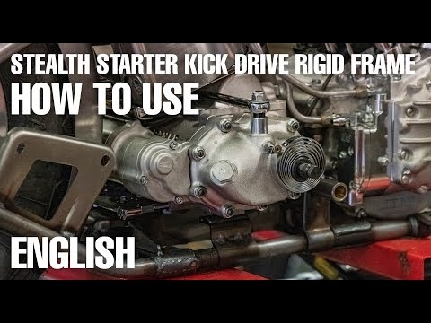 HOW TO USE - Cannonball StealthStarter SSK-R - Kick Drive Rigid Frame - Englisch subtitle