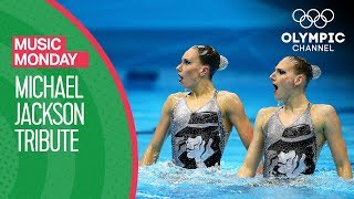 A Synchronised Swimming Tribute to Michael Jackson | Music Monday