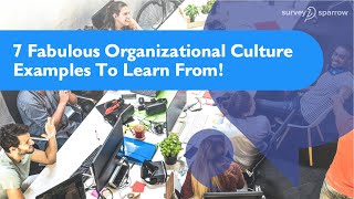 7 Fabulous Organizational Culture Examples To Learn From