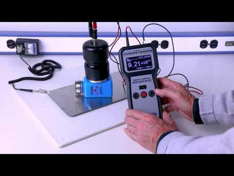 Menda - HDPE durAstatic® Bottle - Volume Resistance Test