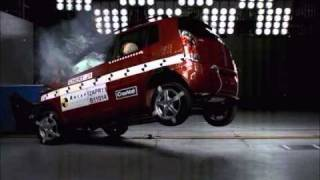Chery J1 Crash Test - ANCAP 3 Stars