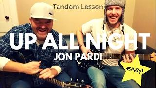 Up All Night - Jon Pardi (beginner) Guitar Lesson