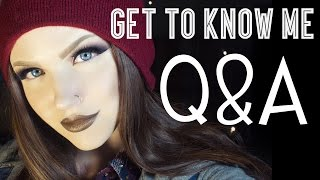 Glam&Gore Q&A - Get to know me