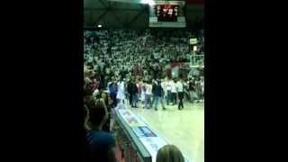 preview picture of video 'Pistoia Basket - Givova Scafati 83-74 [gara-5 PlayOff LegaDue 2011/2012]'